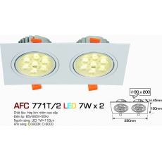 Đèn downlight led AFC 771T/2 7W