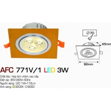 Đèn downlight led AFC 771V/1 3W