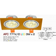 Đèn downlight led AFC 771V/2 3W