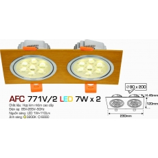 Đèn downlight led AFC 771V/2 7W