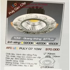 Đèn downlight led AFC LED PULY 07 10W