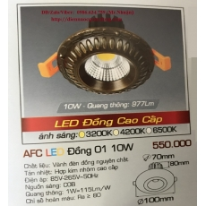 Đèn downlight led AFC LED Đồng 01 10W
